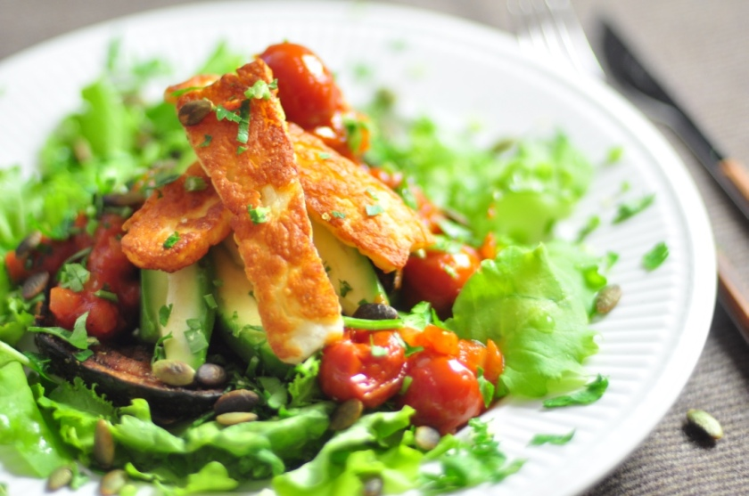 Halloumi_with_veggies